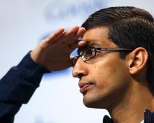 Nagy jövőnek néz elébe Sundar Pichai a Google-nál