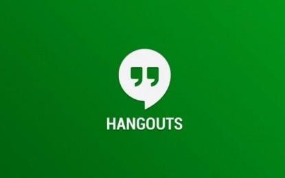 A Hangouts app nem fogja kezelni az SMS/MMS üzeneteket