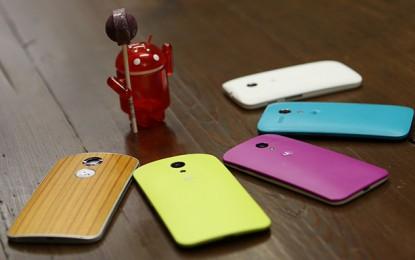 A mi telefonunkra mikor érkezik az Android Lollipop?