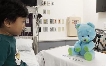 Robot mackókkal segítenék a gyermekek gyógyulását