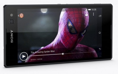 Teszt: Sony Xpera C3 Dual – A küklopsz szeme