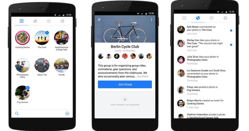 Facebook-Groups-App