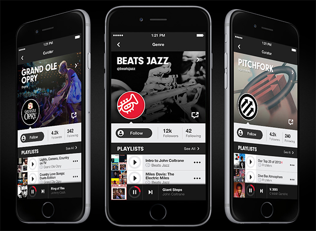 beats music on iphone
