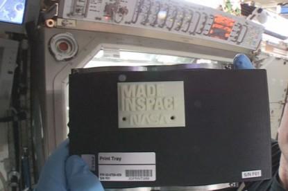 Már az űrben is hódít a 3D nyomtatás
