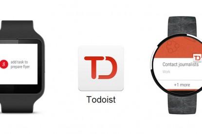 A Todoist már az androidos órákon is elérhető