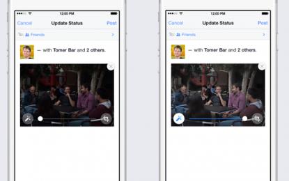 Autómatikusan javítja fotóinkat a Facebook