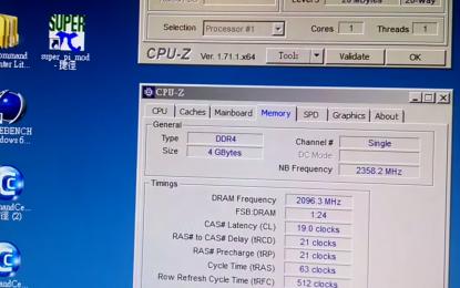 A HyperX memóriaórajel-növelési világrekordot állított fel