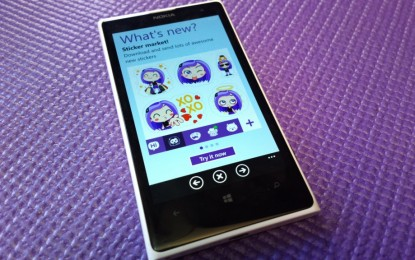Megújult a Windows Phone Vibere