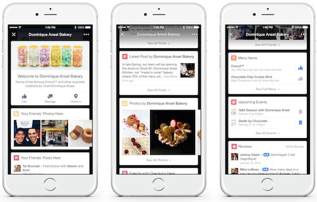 A Facebook szembeszáll a Foursquare-rel