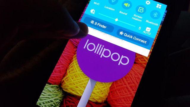 Galaxy Note 4: már nincs messze a Lollipop frissítés