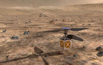 Drónok segítenék a Mars-kutatást