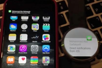 Már iPhone-nal is működik a Moto 360?