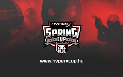 Nyerj 250 000 Ft értékű HyperX nyereménycsomagot a HyperX Spring Cup tornán!