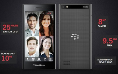 Nem hoz sok újdonságot a BlackBerry Leap