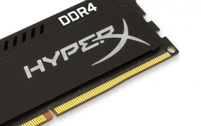 Bemutatkozott a csúcssebességű HyperX FURY DDR4 memória