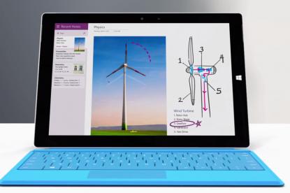 Bemutatkozott a Surface 3 Tablet