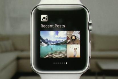 Hamarosan már az Apple Watch-on is Instagramozhatsz