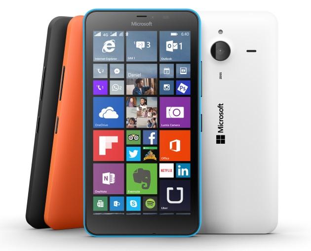 Lumia+640+XL+family