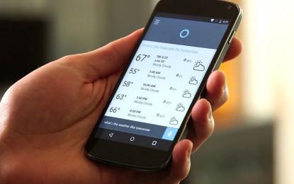 Hamarosan iPhone-on és Androidon is elérhető lesz Cortana