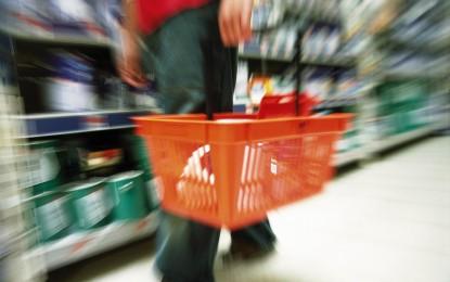 7 %-kal nőtt a kiskereskedelmi forgalom volumene az első negyedévben