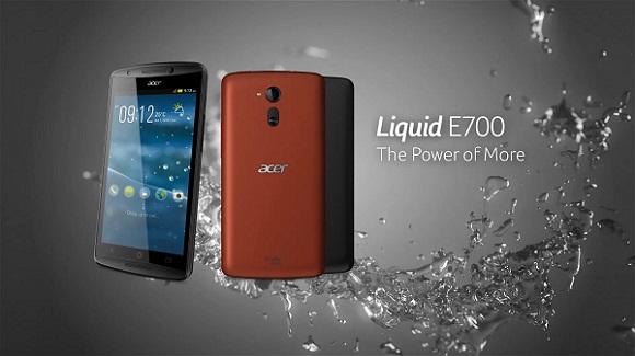 Teszt: Acer Liquid E700 – Három a magyar igazság