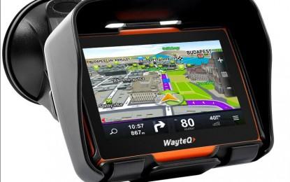 Motorosoknak készült a WayteQ új GPS-e