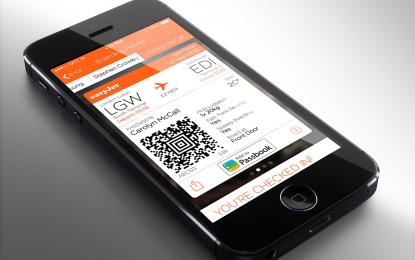 Megújult az easyJet iPhone-alkalmazása