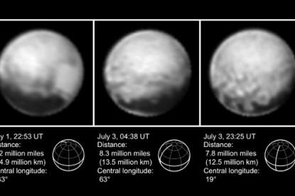 Egyre részletesebb képek érkeznek a Plutóról