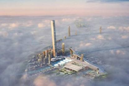 A világ leghosszabb fedett sípályáját építik Dubajban