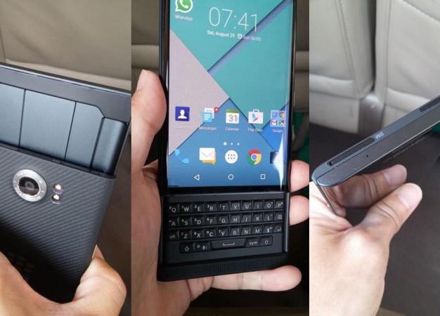 Hajlított kijelzővel érkezik az első androidos BlackBerry?