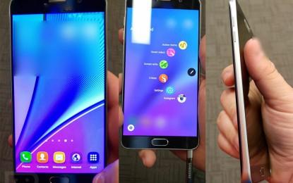 Jön a felnagyított S6? Újabb fotók érkeztek a Galaxy Note 5-ről