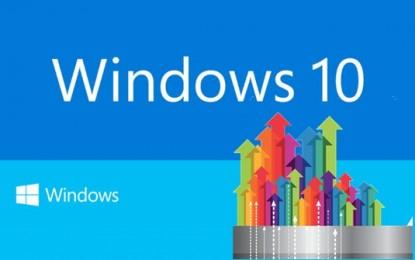 Bámulatos lendülettel terjed a Windows 10