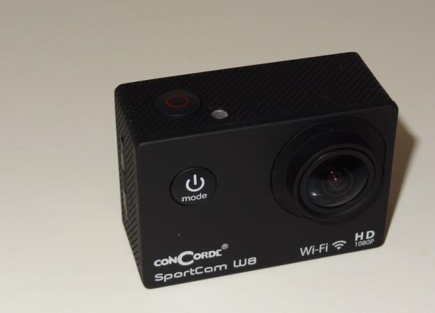 Teszt: ConCorde SportCam W8 – extrém kamera extrém olcsón