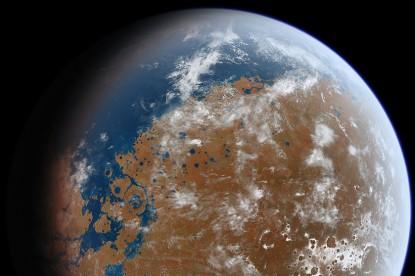 Mégis volt élet a Marson?
