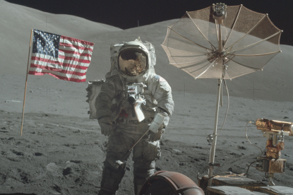 Ezt látnod kell! Több ezer fotót tett közzé a NASA az Apollo küldetésekről