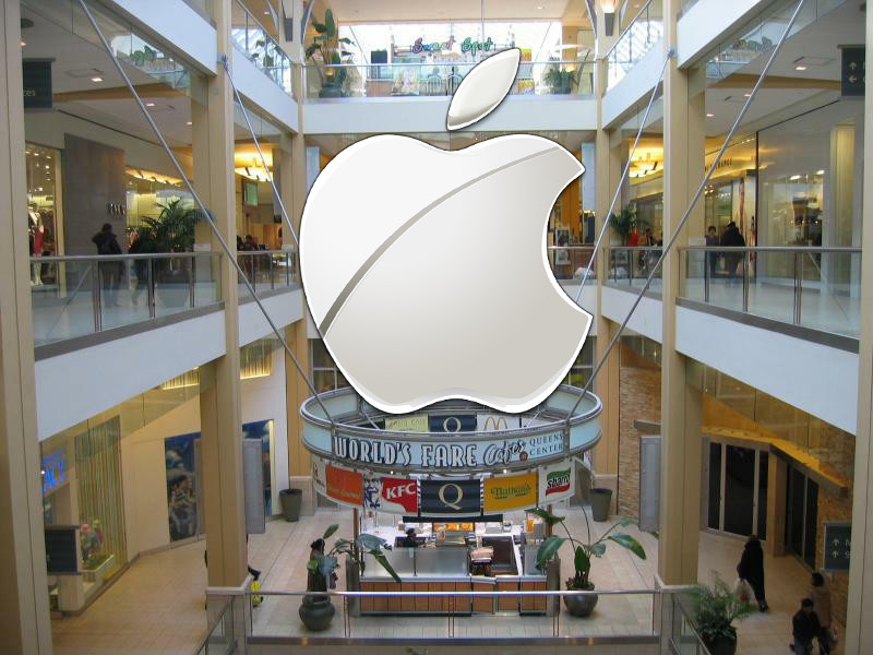 Queens Center Mall - Apple Store