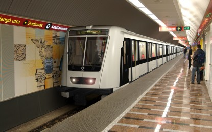 Villámgyors sebesség a budapesti metrókon