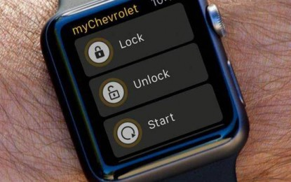 A GM is Apple Watch-csal vezérelné az autóit