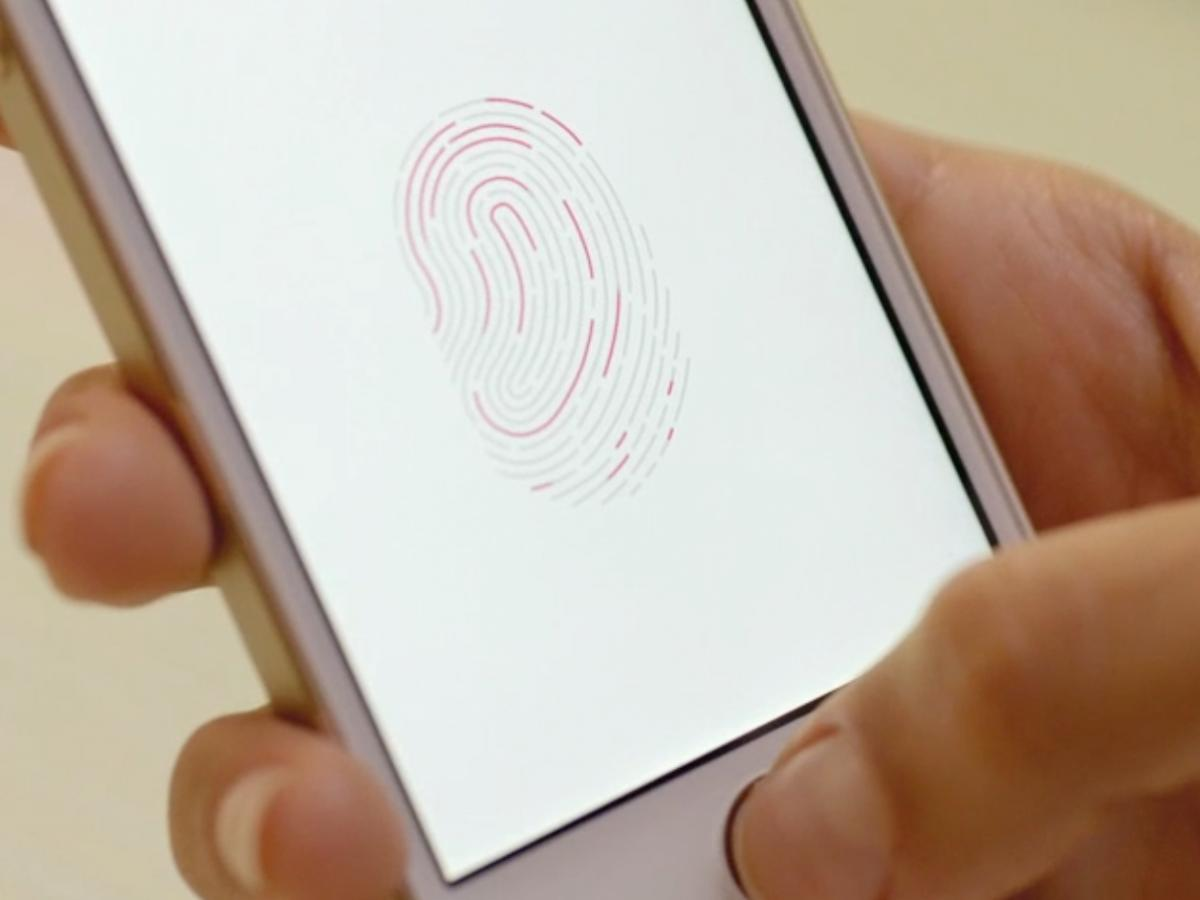 touchid wrong