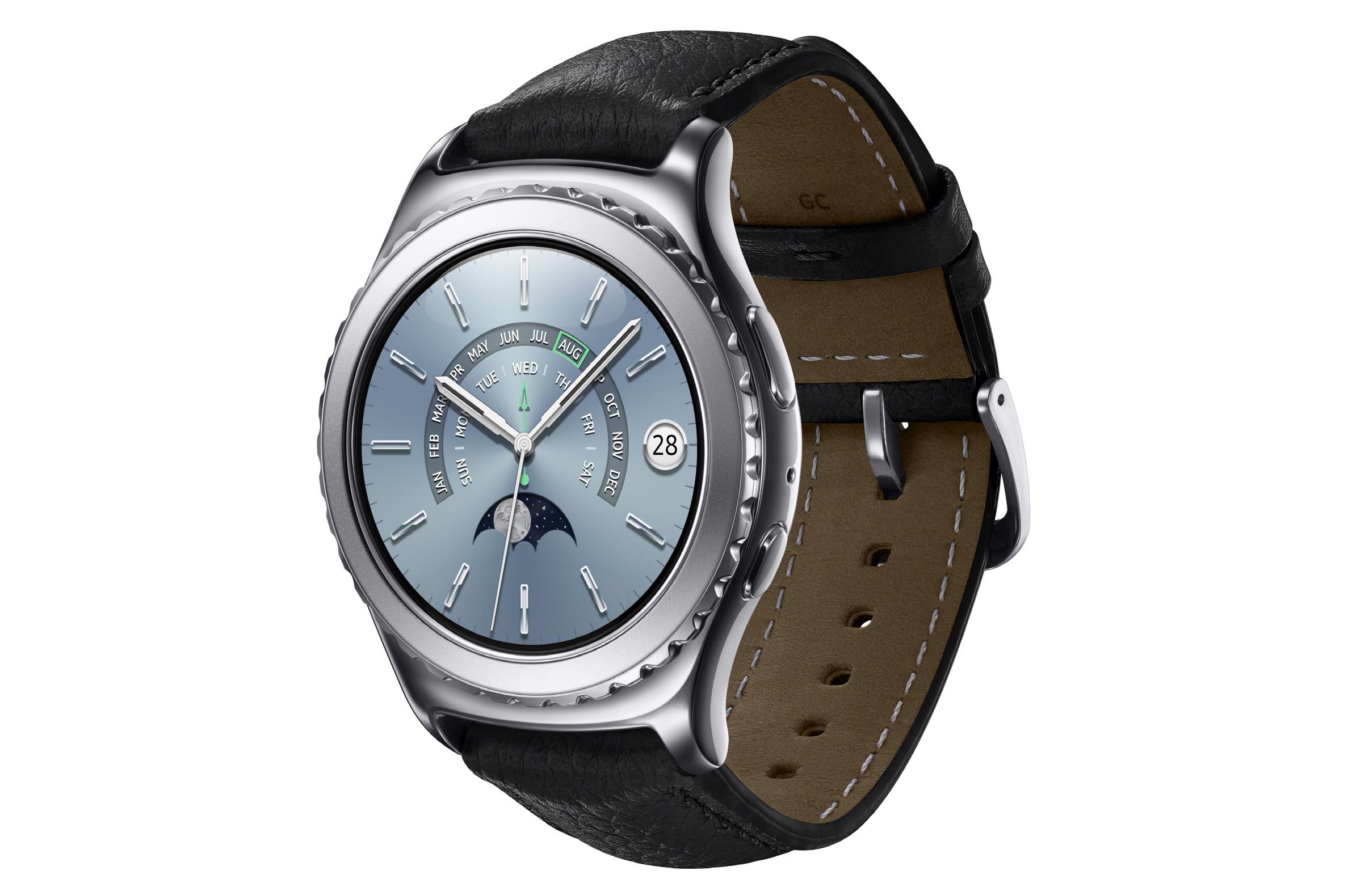 Samsung Gear S2 classic_Platinum_Rside