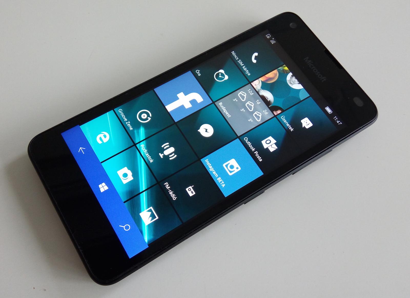 lumia 550 1