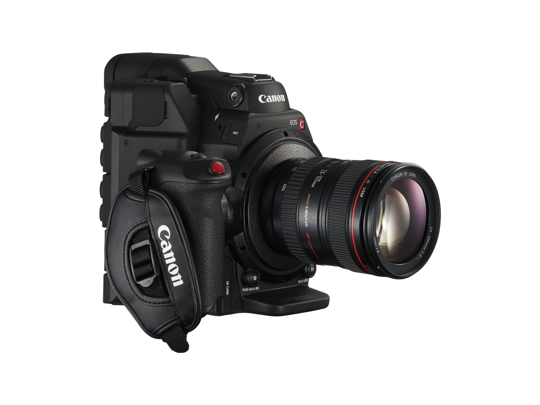 EOS C300 Mark II FSR 24-105 f4L Grip