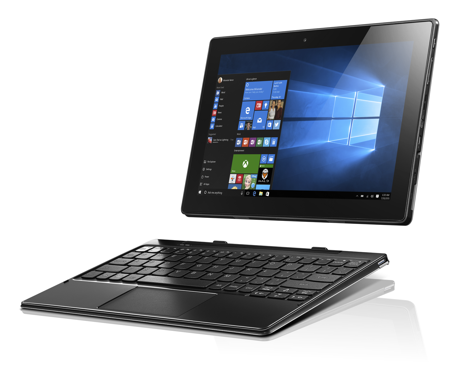 Lenovo ideapad MIIX 310 2-in-1 detachable tablet_keyboard