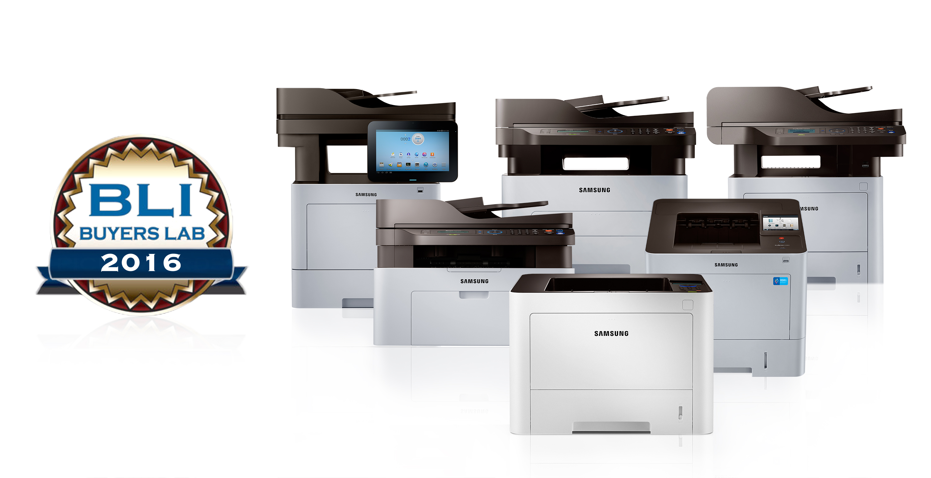 Samsung Printing wins BLI Award for the Fourth Time