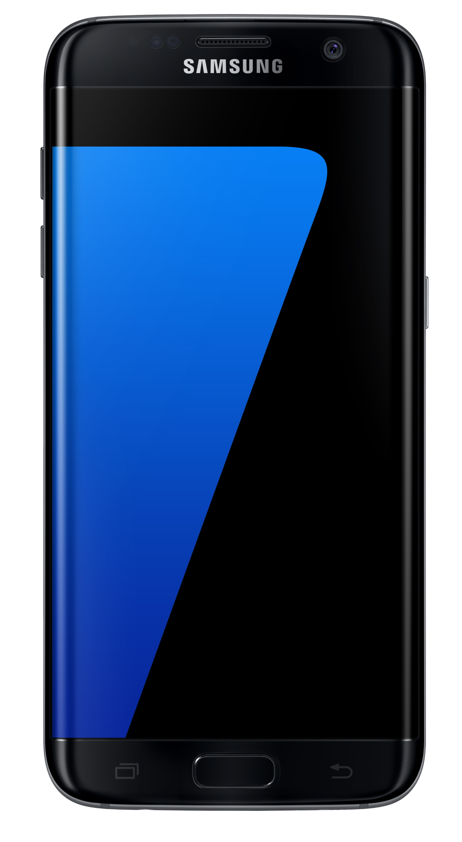 Samsung_Galaxy S7 edge Black Onyx Front