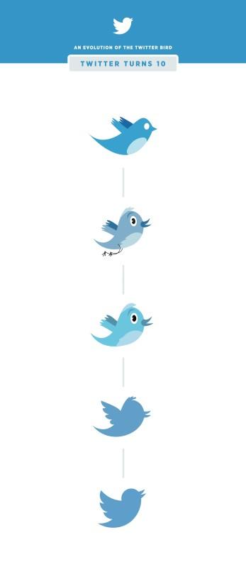 TwitterBirdEVolution