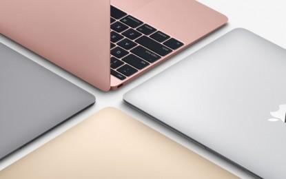 Hivatalosan is bemutatkozott az új MacBook