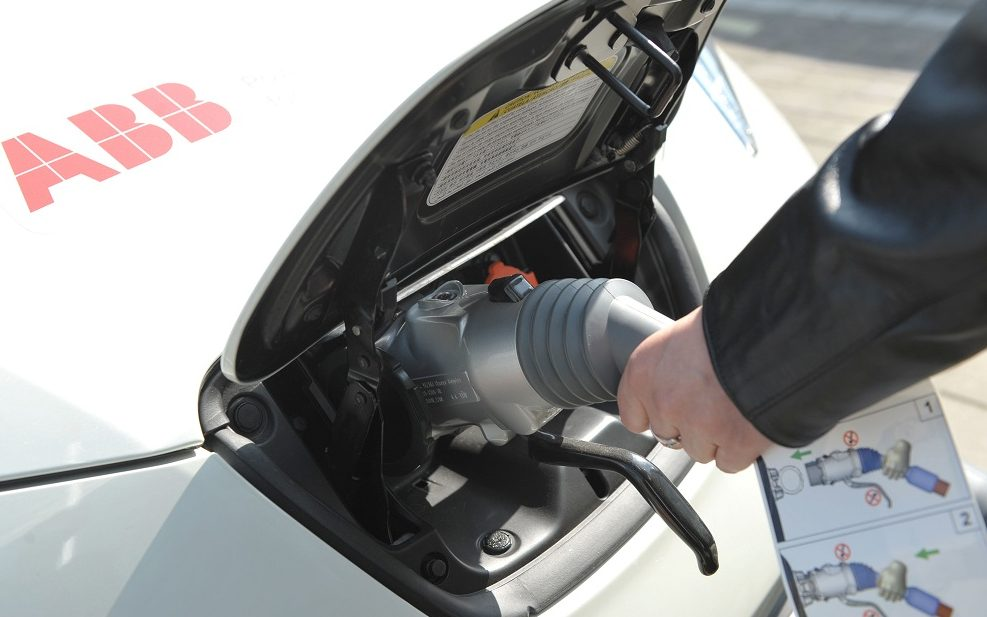 ABB e-car toltes