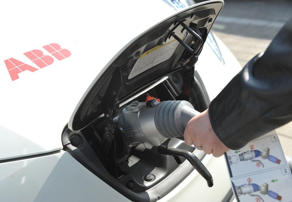 ABB e-car toltes