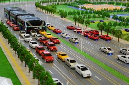 Kínában megoldották a városi közlekedés legnagyobb problémáját?
